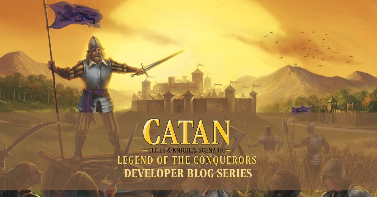 test Twitter Media - In the final scenario of CATAN – Legend of the Conquerors, you must chase the Conquerors from their forts and banish them from the island. See how the scenario changes in the next installment of the developer's blog by designer Klaus Teuber: https://t.co/DUIFrCNcTe https://t.co/QvrTRGalmB