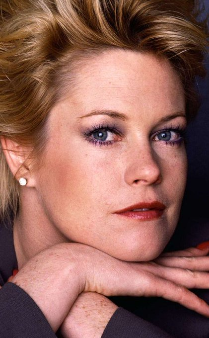 Happy Birthday goes out to Melanie Griffith who turns 63 today.