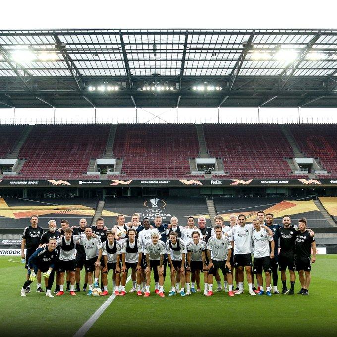 Az FC Koppenhága csapata.