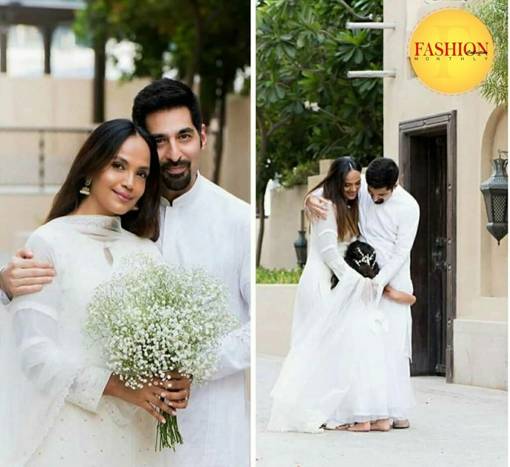 Aamina sheikh and Omer Farooqi ties knot💍 . #fcmag #wedding #actors #celebration #happy #staysafe #actors #lifestyle #music #brands #weekday https://t.co/uuuJKbJAD4 https://t.co/vCbcnMSE7O