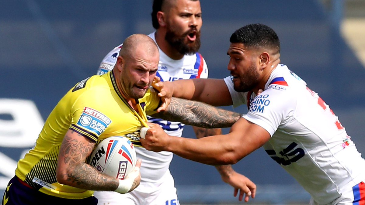 HIGHLIGHTS: Wigan hold off late Wakefield fightback in Headingley thriller: trib.al/hlZVxsS
