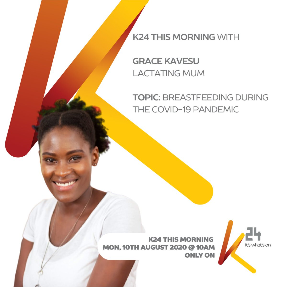 K24 Tv On Twitter In Furtherance Of Who World Breastfeeding Week