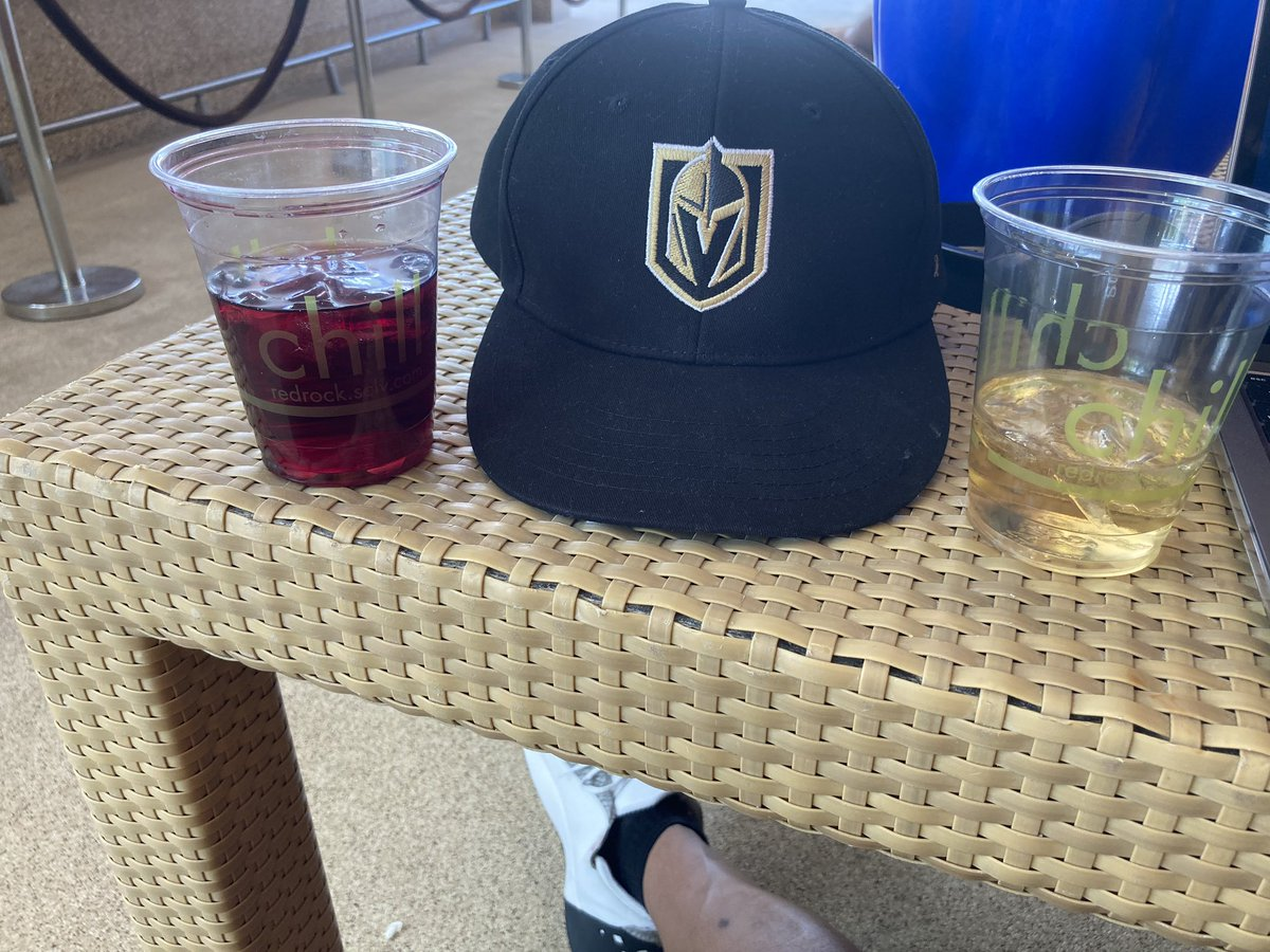 2020 has been crazy. I'm out here in 100 degree heat watching the Knights play. Time to get this wine and tequila on. #GoKnightsGo #kwamejoynerproject #vegasstrong #brothaswhodontswimatpool #thinkmymaskisdrunk #redrockpool #daydrinkingpic.twitter.com/p9tv1SF01C