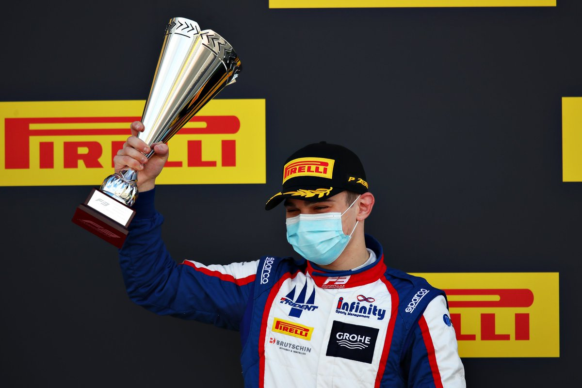 ⭐ Promoted to P1 ⭐  @DavidBeckmannF3 claims his second #F3 victory following Alex Smolyar's demotion  #BritishGP 🇬🇧 https://t.co/jCudUGdb19