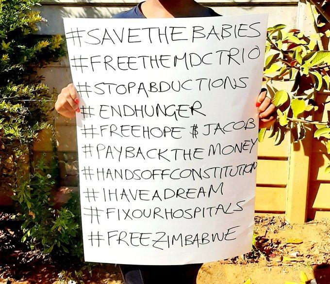 #freeZimbabwe