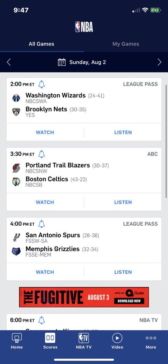 Today's predictions: Wizards vs Nets: Nets Win by 5  Blazers vs Celtics: blazers by 2  Spurs vs Grizzlies: Grizzlies by 6 Kings vs Magic: Magic by 9 Bucks vs Rockets: Bucks by 3 Mavs vs Suns: Suns by 7  WHAT YALL THINK? https://t.co/JxBgfT8jQX