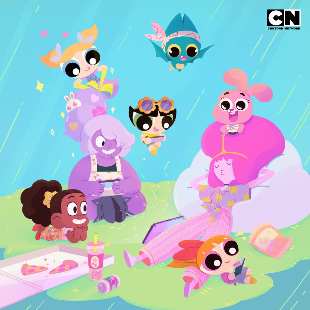 Cartoon Network On Twitter Our Sisterly Squad Wishing You A Happy Nationalsistersday Sisters Cartoonnetwork