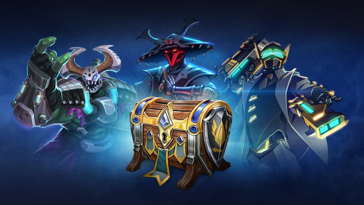 What Remix skin in Paladins is your favorite? You can get all of these classics and more in the Battle Pass 2018 Chest now!
