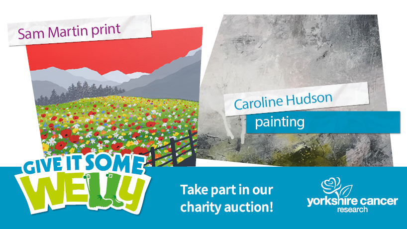 Art fans! There's a whole range of beautiful Yorkshire works of art for sale in our #GiveItSomeWelly auction, which ends TODAY at 6pm.   See the full range here:
