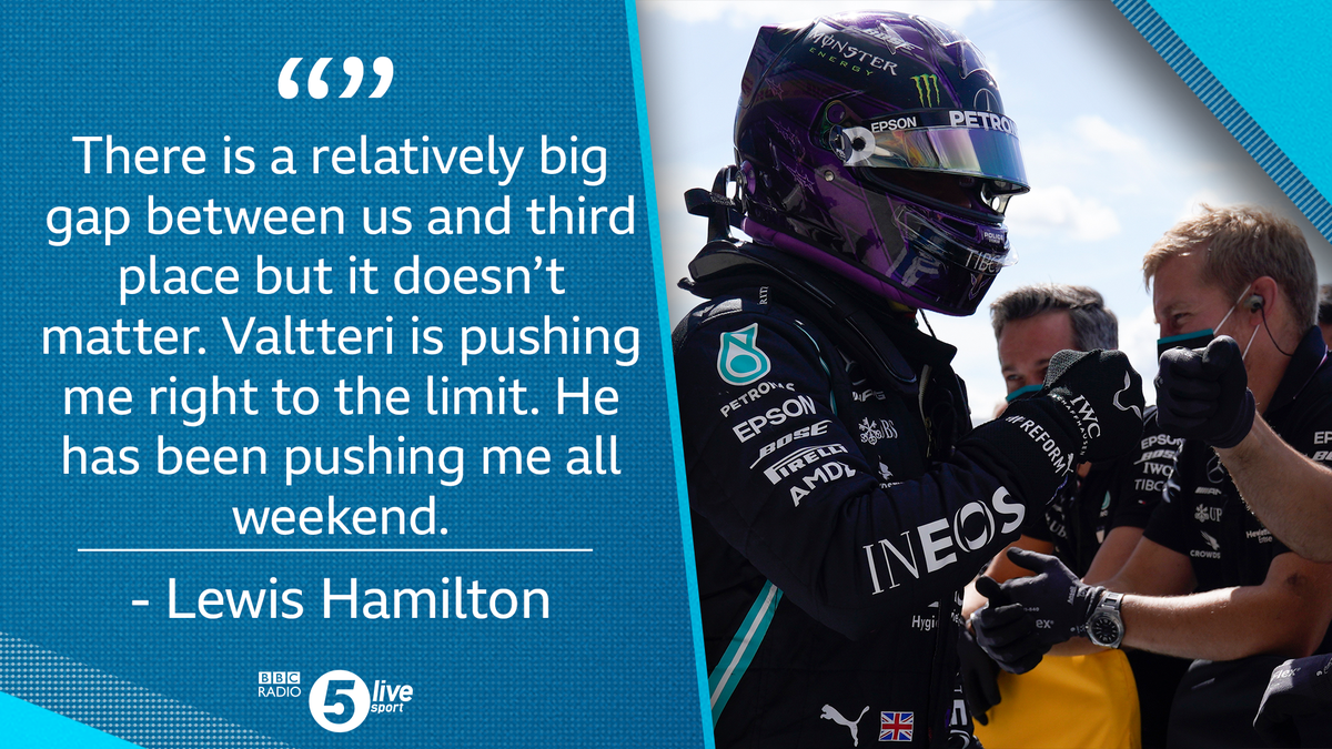 🙌 A 91st career pole for Lewis Hamilton!  📻 Listen LIVE to the #BritishGP on @BBCSounds  👉 https://t.co/5Du5Yi3KXr  #BBCF1 https://t.co/zaJuXWZido