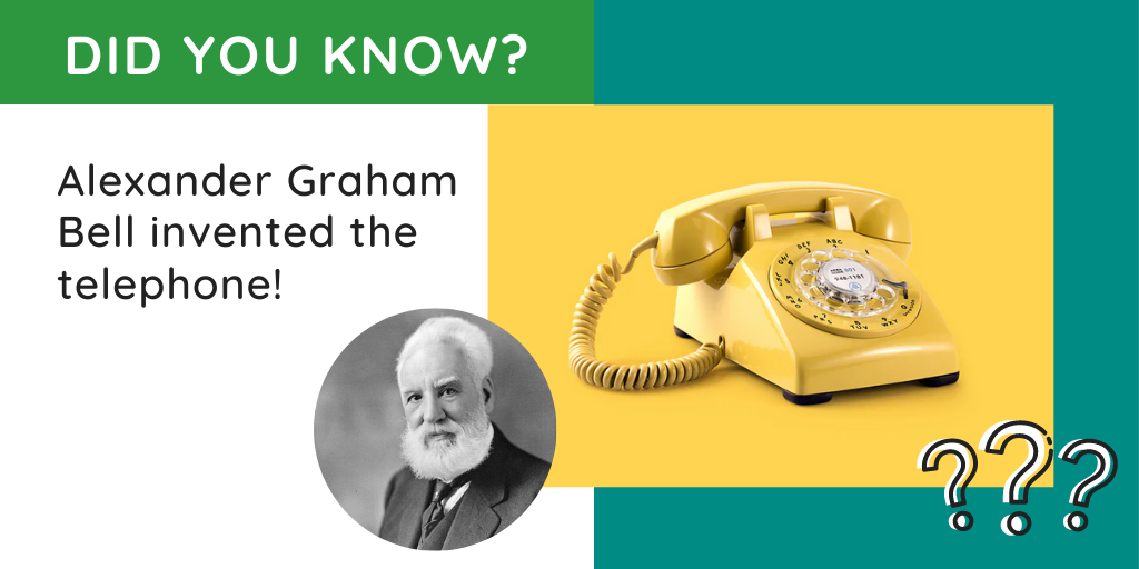 DID YOU KNOW? Alexander Graham Bell died on August 2, 1922, in Nova Scotia. Every phone in North America was silenced for a minute in homage to the man who invented it. Source: https://1l.ink/BNZPPXR #engineering #innovation #phone #engineerspic.twitter.com/csqLWOKJXf