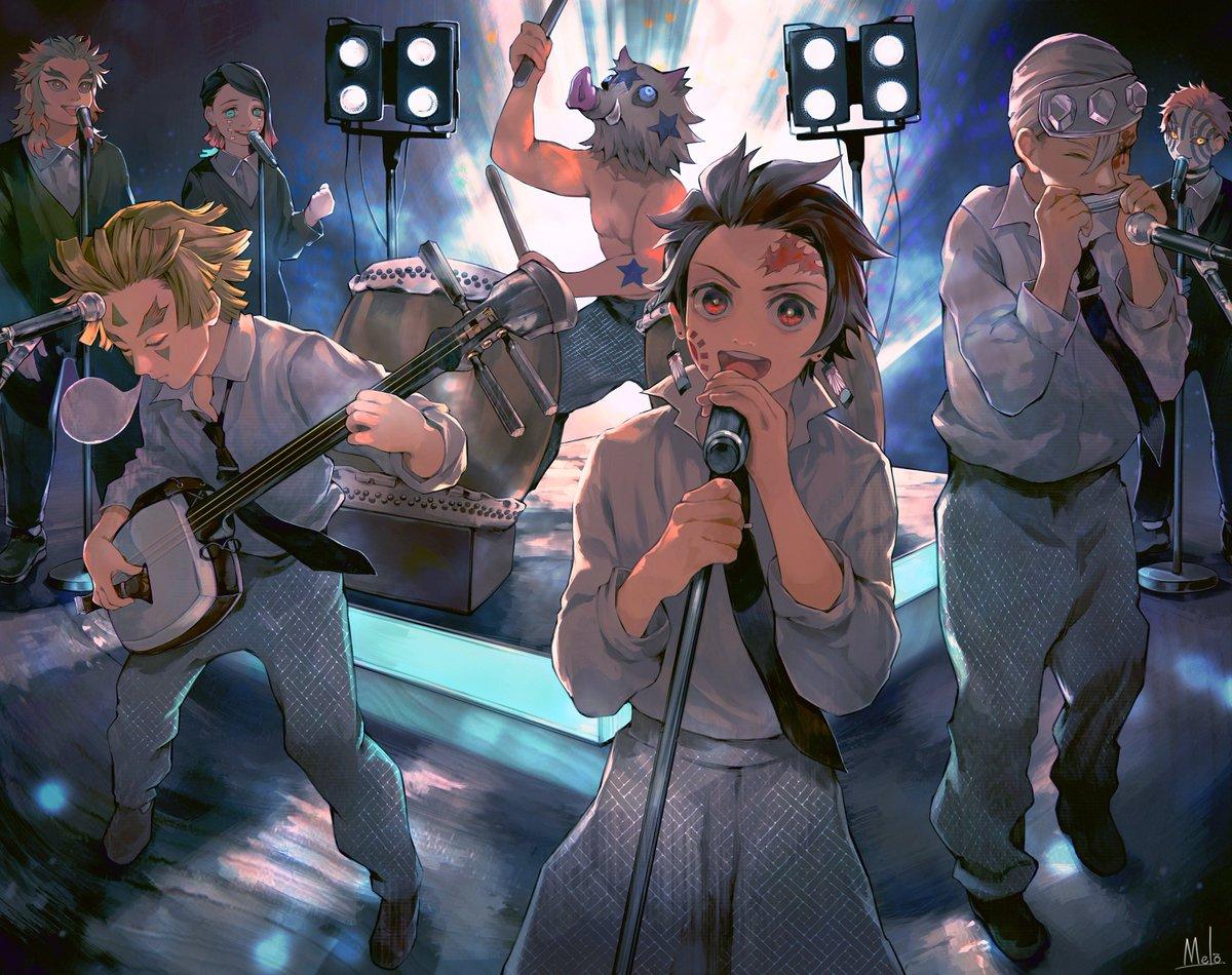 劇場版「鬼滅の刃」 無限列車編、主題歌発表を祝うハイカラバンカラデモクラシー  (LiSAさんの「炎(ほむら)」素敵……。)