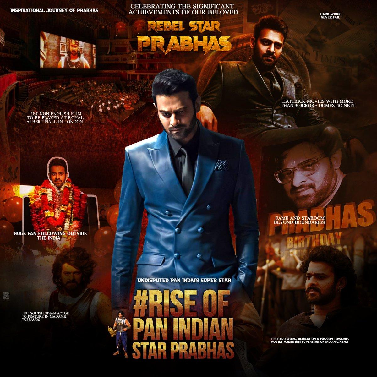 proudest fans of any indian actor  #RiseOfPanIndiaStarPrabhas pic.twitter.com/FN2kccpNuX
