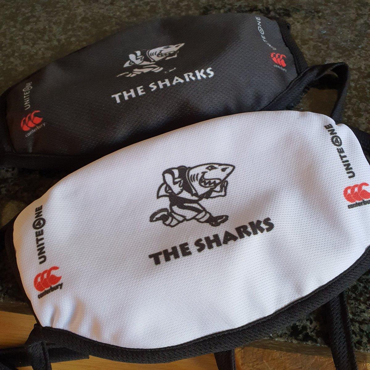 Finally got my @TheSharksZA #unite4one  @CanterburySA masks  #SouthCoastRoadTrip #ShellyBeach  #Maritzburre #Sharkie  #OurSharksForeverpic.twitter.com/2p1giKGq3s