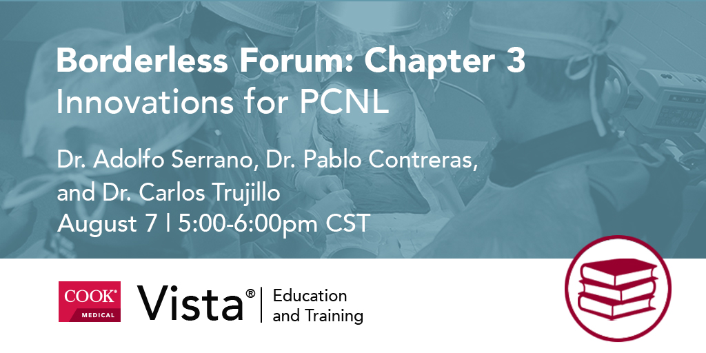 August 7: Latin America Borderless Forum, Chapter 3  Topic: Innovations for #PCNL  Participants: Dr. Adolfo Serrano, Dr. Pablo Contreras @PabloNContreras, & Dr. Carlos Trujillo  Register: https://bit.ly/3fb5ZN5pic.twitter.com/jikaQSo05u