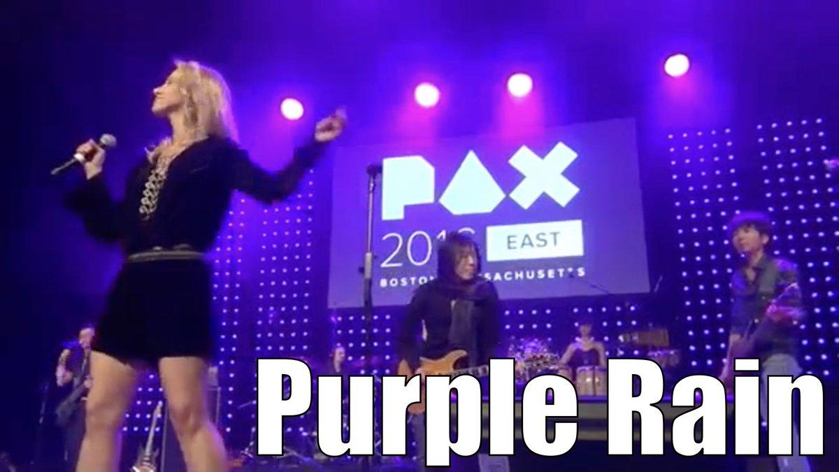 Purple Rain (Prince cover)アンコールでプリンスのパープルレインを弾いてみた#PaxEast #pax #VideoGameOrchestra