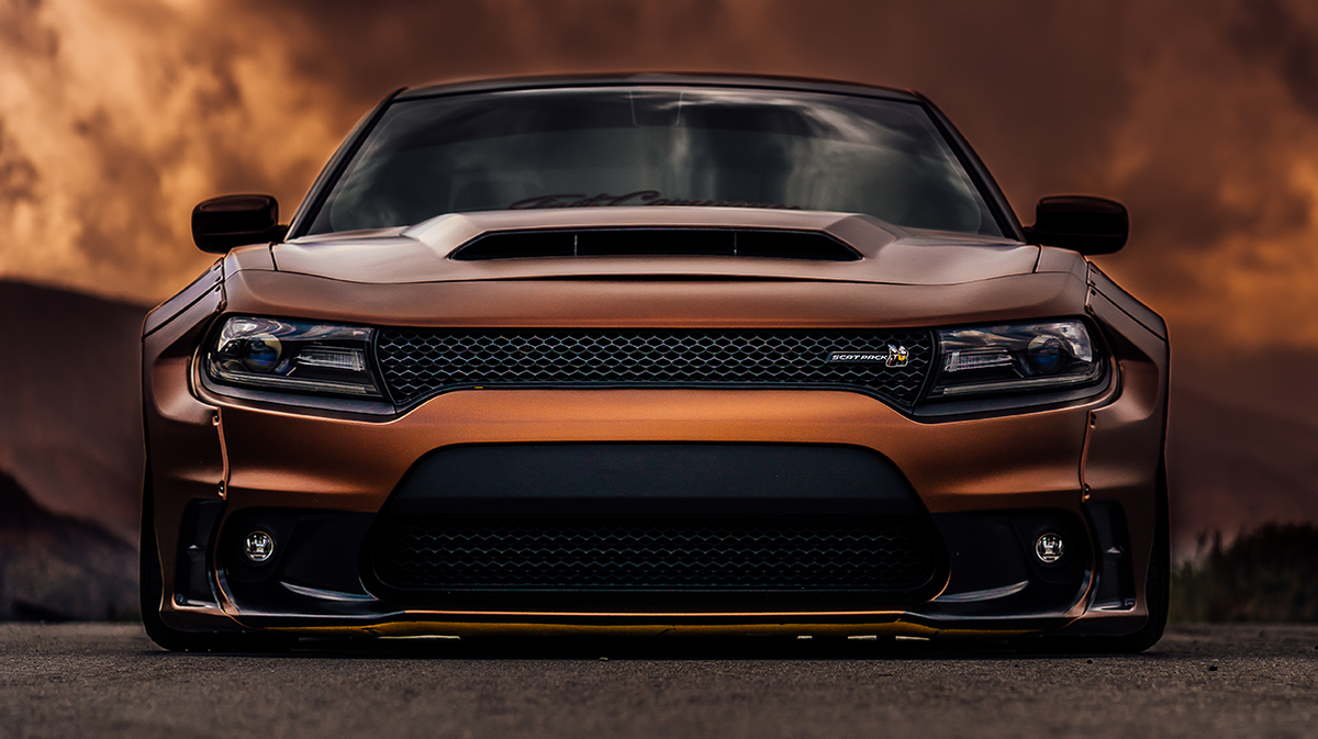 Winning the stare down. Photo Credit: Richard A. and Randy S. #ThatsMyDodge #ChargerWidebody https://t.co/aZ687FvRUS