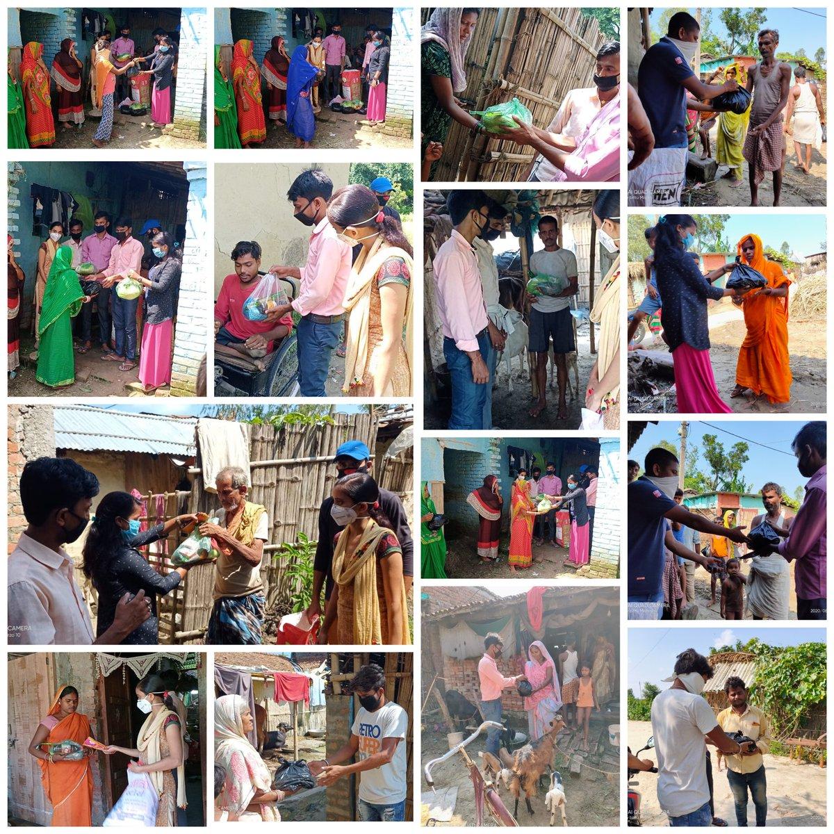 #रेन्ड्रॉप_फाउंडेशन के तत्वधान में टाटा ग्रुप के #जेमिपोल_कंपनी के सहयोग से #मणिभूषण_झा के निर्देशानुसार #जागरूकता_अभियान_संस्था_गंगौर ( Youth voice for society)के  विजय कुमार, रवि कुमार, शंभू कुमार ,सचिन कुमार, रंजीत कुमार, अशोक कुमार ,  किरण कुमारी के साथ मिलकर राशन पहुंचाई। https://t.co/GxCAc9f3Yt