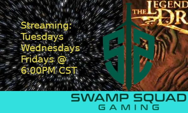 Come watch me play games! Live at 6:00PM CST, Tuesdays, Thursdays, and Fridays! Please Follow @SwampSquad on Facebook! #Streamingsoon #Streamingschedulepic.twitter.com/Ec5UtUR91g
