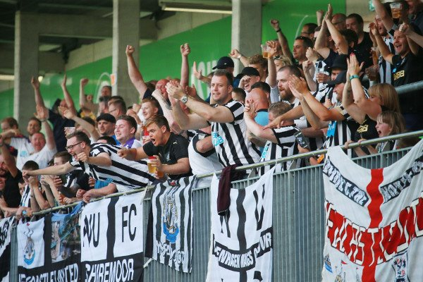 ON THIS DAY 2017: Newcastle United in Wolfsburg #NUFC