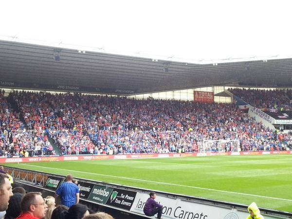ON THIS DAY 2014: Rangers at Derby County #RFC #WATP