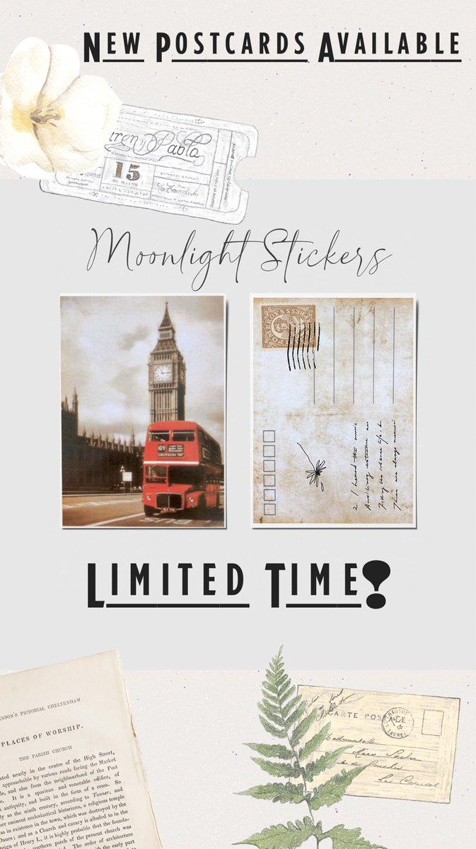 new vintage postcards...limited stock luvs #postcard #vintage #smallbusinessownerpic.twitter.com/tLG4VmqDbZ
