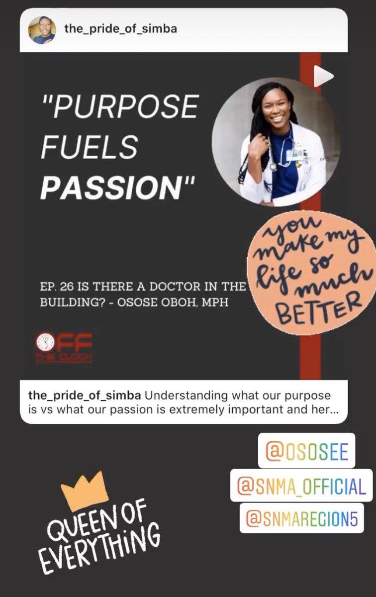 #EmpoweringWomen2020 @OsoseOboh! #medtwitter