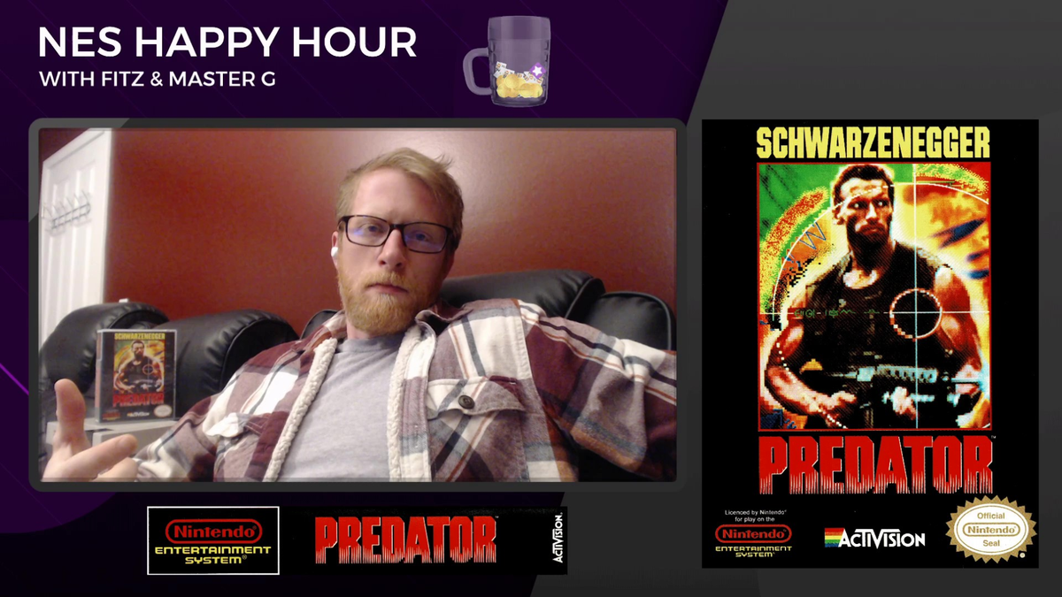 If you missed the last LIVE episode of the The #NES #HappyHour with Fitz and Master G, no worries!  You can get caught up on all that #retrogamer goodness from our last episode at the link below:  https://t.co/LnWUM6ULCO  @rtsmallstreams  @Small_YT_Help  @Rev_Rts https://t.co/71Ysw8nSuI