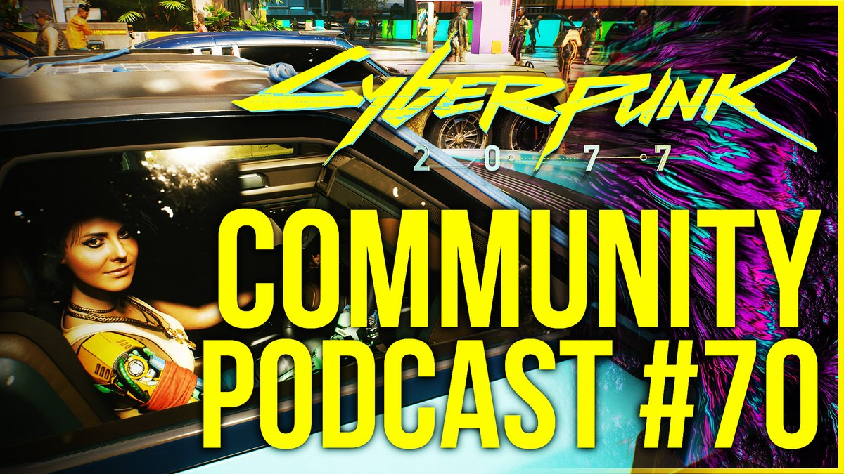 Good day everyone! Today we have a new Cyberpunk 2077 Community Podcast with @TheNeonArcadeNA, @TripleSLeague, and @MadqueenShow. We are going to talk about all the things that happened this week and what we might see in the future. https://www.youtube.com/watch?v=_GJT46dywdg …pic.twitter.com/k5WyMKTcec