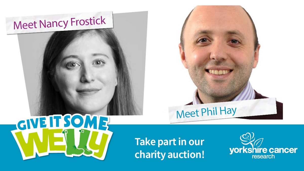 Aspiring journalist? #LUFC or #SWFC fanatic?  We're offering a unique chance to meet @TheAthleticUK writers @nancyfrostick and @PhilHay_ as part of our #GiveItSomeWelly auction!   🦉 Nancy Frostick   💛 Phil Hay   Ends TODAY at 6pm.