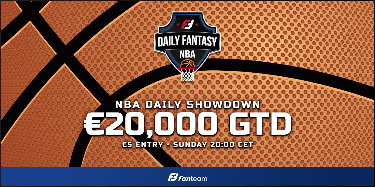 🇺🇸 #NBA DAILY SHOWDOWN 🇺🇸  There are 6️⃣ games to be played in today's €20,000 fantasy NBA contest on https://t.co/SYxvLrmTgj  🏀 Nets vs Wizards 🏀 Celtics vs Blazers 🏀 Grizzlies vs Spurs 🏀 Magic vs Kings 🏀 Rockets vs Bucks 🏀 Suns vs Mavericks  👌 Only €5 entry per lineup. https://t.co/9yIITeqEOk