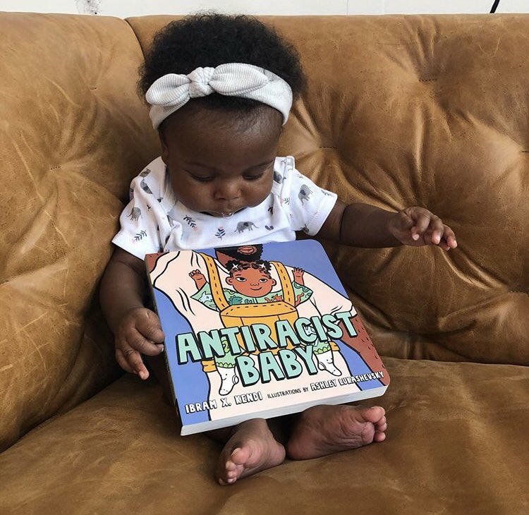 Sharing all the cuteness and love of #antiracistbaby. Thank you caretakers for sharing these images of your little ones.