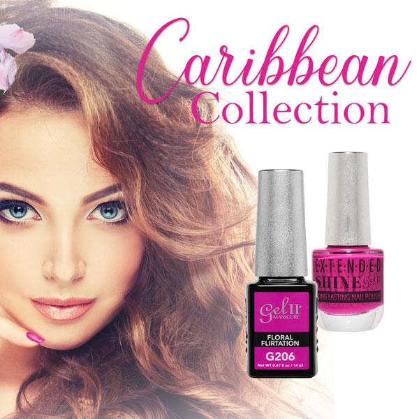Gel II Caribbean Collection Floral Flirtation G206⠀⠀ https://bit.ly/3gLxE9v  ⠀⠀ #gelii #geltwo #GelPolish #nailsalons #manicure #pedicure #nails⠀pic.twitter.com/DkfVjNSge2