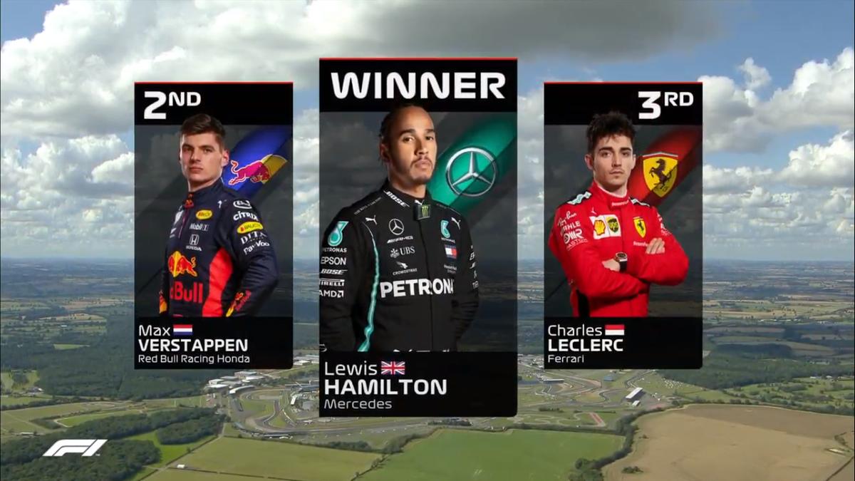 @Ferrari logra un podio y un punto de la nada #GPBritanico https://t.co/3rzkFOyXXW