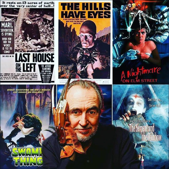 Happy Birthday to a legend. Wes Craven. R.I.P