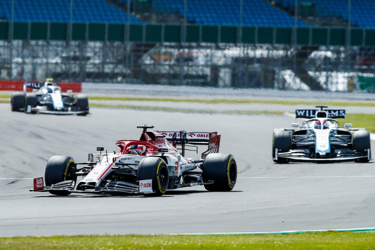 Cierra puntuando un Vettel que luchó con un auto que no pudo usar al máximo por estar reservando motor, presumiblemente por dudas de fiabilidad.  #f1 #formula1 #f1paddockpy #britishGP #GPBritanico #silverstone https://t.co/XCRPQ7DgeT