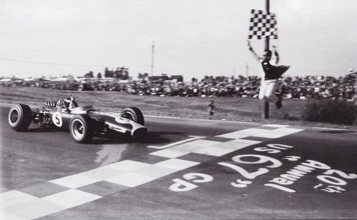 The other win with 3 operative wheels in #F1 history #BritishGP Jim Clark, US GP 1967. https://t.co/Jk4fgD3EIh