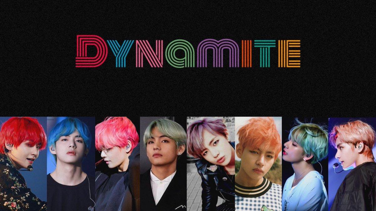 taehyung as dynamite 🧨