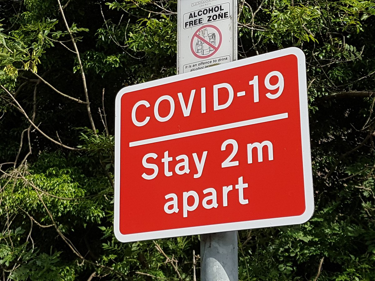 Hmmm. *someone* is taking COVID-19 for the long haul. This town is replacing it's plastic signs with ones printed on metal, good for a decade or several. https://t.co/G1susyBZHK