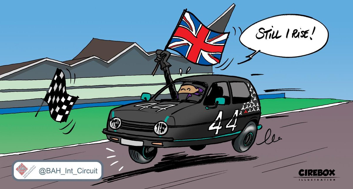 Four wheels or three, job well done! #F1 #BritishGP 🇬🇧  @LewisHamilton @MercedesAMGF1 https://t.co/ySHV6yennc