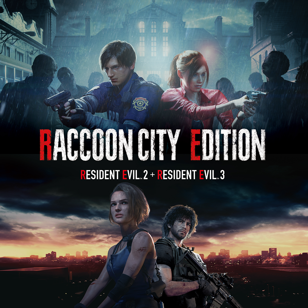 "Capcom UK on Twitter: ""Bored this summer? 🌥️ The Raccoon City Edition, featuring both Resident Evil 2 & Resident Evil 3, is now on sale for PS4! The games are also still"