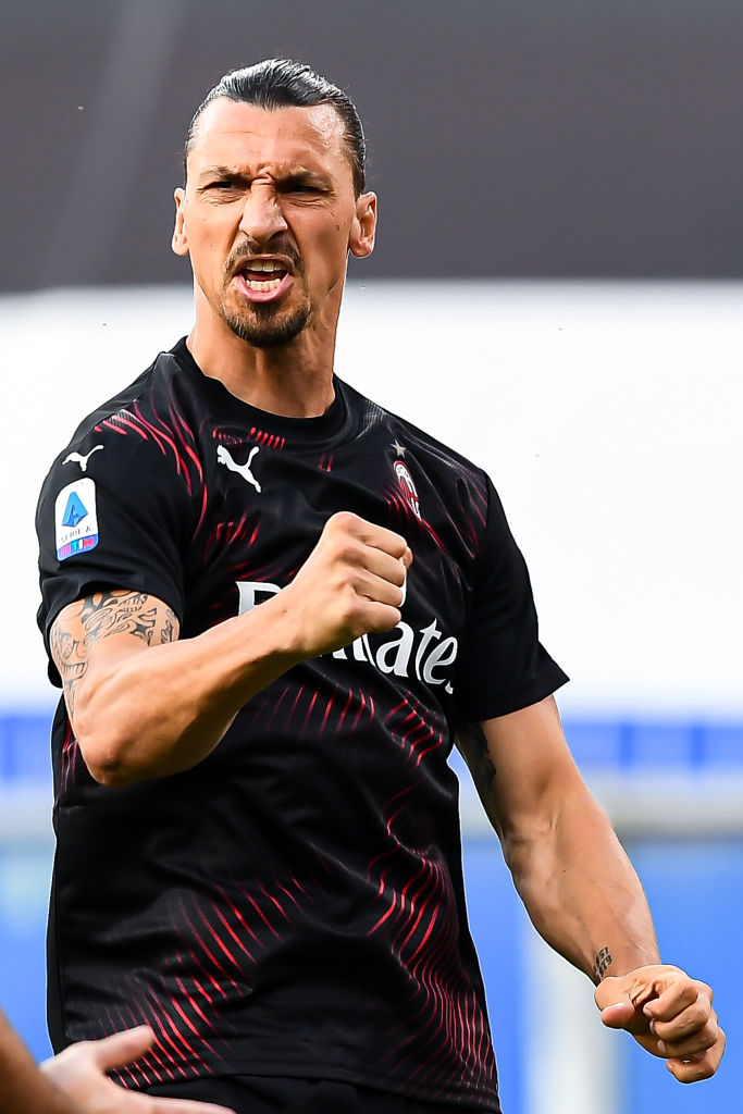 Post-lockdown best rated players in Serie A: 🥇 Z. Ibrahimovic (@acmilan) - 7.75 🥈 C. Ronaldo (@juventusfc) - 7.65 🥉 P. Dybala (@juventusfc) - 7.63