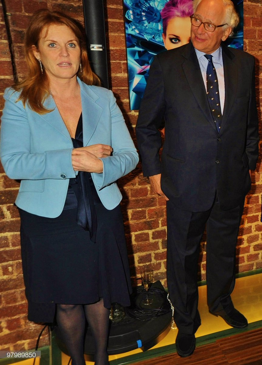 Prince Andrew's wife, Fergie, is also fond of Sir Evelyn de Rothschild.