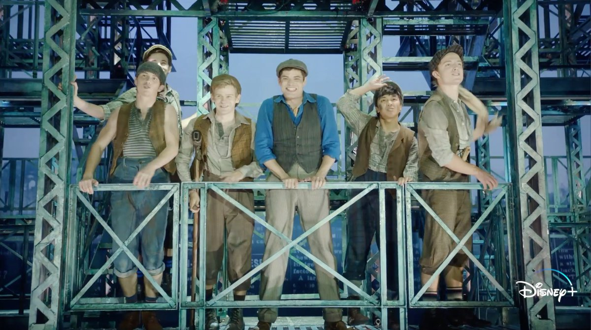 """If you're in the mood for more musicals after Hamilton, have we got NEWS for you! #Newsies: The Broadway Musical, which stars thespian icon @JeremyMJordan and features this lively number """"Carrying the Banner,"""" is streaming on #DisneyPlus."""