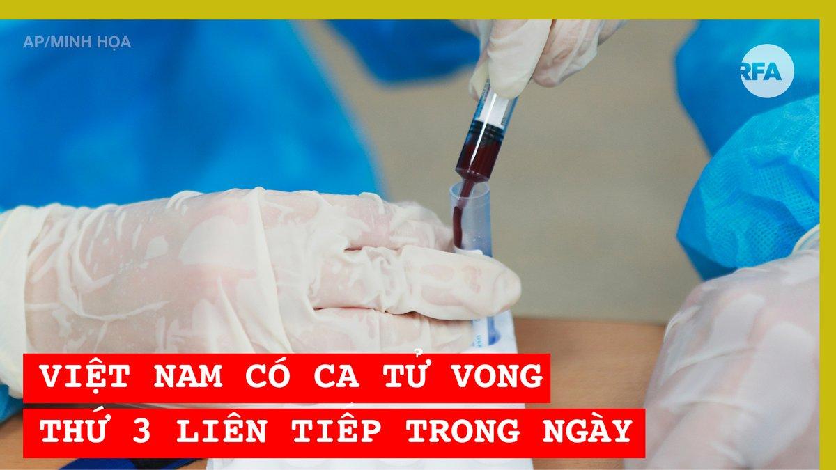 Tối 2-8-2020, Bộ Y tế #Vietnam tiếp tục xác nhận quốc gia này có ca tử vong thứ 3 trong một ngày, đây là con số tử vong thứ 6 chỉ trong 3 ngày liên tiếp từ ngày 31-7-2020 #covid19vietnam https://t.co/q1deM8xcz7