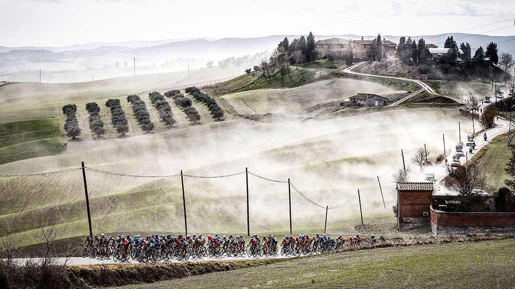 Paesaggi delle Strade Bianche 2020 #ciclismo #cycling #StradeBianche #StradeBianche2020 🔗 NK Tegenwindfietsen  https://t.co/uP7ML2hGnP https://t.co/woK3LVdb3a