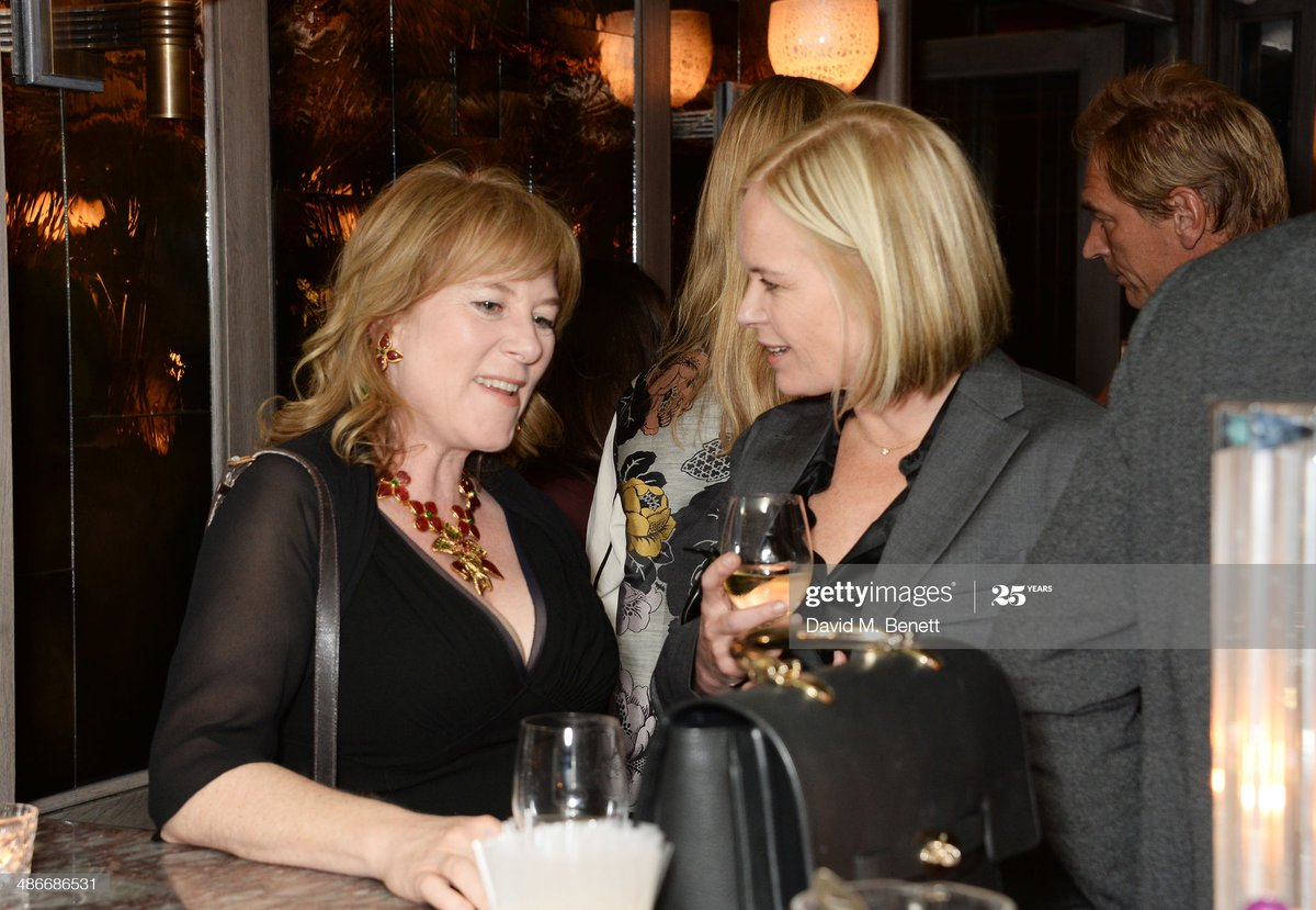 TV presenter Mariella Frostrup – in Ghislaine's Black Book – seems friendly with Hannah Rothschild, daughter of Lord Jacob Rothschild.