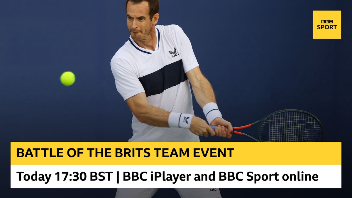 The Battle of the Brits evening session is just under way 🎾 Andy Murray is in mixed doubles action. Watch on: 📺 @BBCiPlayer bbc.in/2Xixz4O 💻 BBC Sport bbc.in/30iwgF0 #bbctennis