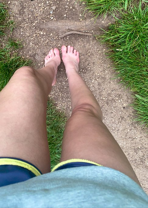 Another incredible barefoot walk across Bristol, some fields, crossing roads and back to my house. Haven't