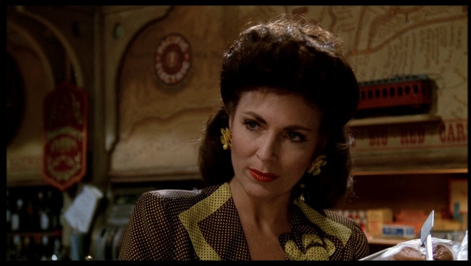 """Happy birthday to Joanna Cassidy, seen here in \""""Who Framed Roger Rabbit\"""" from 1988."""